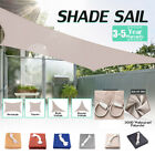 Sun Shade Sail Canopy Cover Garden Patio Awning UV Block Screen Waterproof Large