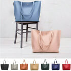 Women Synthetic Leather Handbag Ladies Shoulder Bag Purse Messenger Tote Satchel image