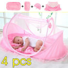 Baby Mosquito Nets Bedding Crib Folding Infant Cot Tent Bed Mat Portable Travel image