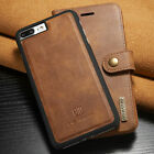 Genuine DG.MING Vintage Leather Wallet Stand Case Cover For Various Smartphones