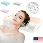 Memory Foam Pillow Comfortable Head Back Orthopedic Soft Neck Support ge image