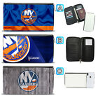 New York Islanders Leather Travel Passport Holder Organizer Wallet $15.99 USD on eBay