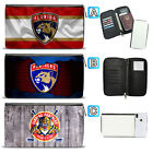 Florida Panthers Leather Travel Passport Holder Organizer Wallet $15.99 USD on eBay