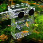 Aquarium Fish Tank Guppy Breeding Breeder Fry Newborn Net Trap Box Hatchery US
