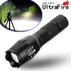 Ultrafire Tactical 150000LM T6 Power LED Zoomable Flashlight   18650&Charger USA