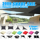 Oxford Fabric Waterproof Sun Shade Sail Garden Patio Awning Canopy 90% UV Block