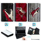 Arizona Coyotes Leather Women Wallet Coin Purse Holder Handbag $14.99 USD on eBay