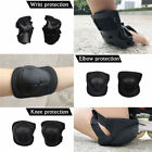 6X Unisex Protective Gear Roller Skating Skateboard Knee Elbow Wrist Guard Pads image
