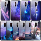Xiaomi Pocophone F1 Silicone Case Tempered Glass Hard Back Phone Cover