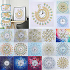 DIY Special Shaped Diamond Painting Wall Clock Mosaic Craft Art Decor 35*35cm