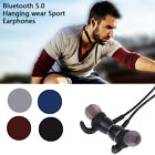 Cool bluetooth5.0 Earphone Headset Wireless Stereo Magnetic Earbud For All Phone