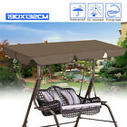 5 Colors Swing Top Cover Canopy Replacement Porch Patio Outdoor 74.80''x51.97''
