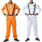 Fashion Astronaut Costume Adult NASA Space Flight Suit Fancy Dress Hallowee S9S3 for sale  Shipping to Canada