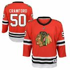 Corey Crawford Chicago Blackhawks Youth NHL Replica Jersey  - Red #50 $64.95 USD on eBay