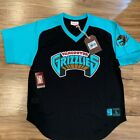Mitchell and Ness Jersey NBA Vancouver Grizzlies Black Teal Shooting Jersey on eBay