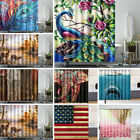 independence Day Home Decor Waterproof Fabric Bathroom Bath Shower Curtain
