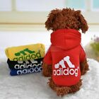 Pet Dog Cat Puppy Sweater Hoodie Coat Clothes Warm Costume Apparel New XS-9XL