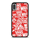 VANS OFF THE WALL iPhone 5/5S/SE 6/6S 7 8 Plus X/XS Max XR Case Cover