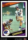 1984 Topps #175 Rolf Benirschke Chargers Cal-Davis 8 - NM/MT $1.35 USD on eBay