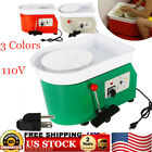 350W 110V Electric Pottery Wheel Machine Ceramic Work Clay Craft & Accessories image