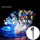 Solar Powered Led Strip Light Fairy Outdoor garden Waterproof Christmas Decor