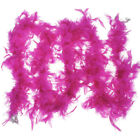 2M FEATHER BOA FLUFFY Fancy COSTUME DRESSUP WEDDING PARTY FLOWER HOME DECOR UK