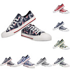 NFL Women's Low Top Repeat Canvas Shoes $39.99 USD on eBay