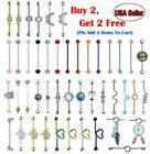 Industrial Scaffold Barbell Ball Bar 14g Surgical Steel Cartilage Helix Ear Stud image