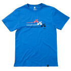 Husky Organic Men's Sprint Blue Organic Cotton T-shirt. RRP £25