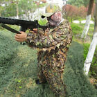 Fashion 3D Camouflage Leaf Clothing Woodland Jungle Hunting Camo Sniper Suit
