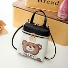 New *This is not a MOSCHINO Toy* Text Teddy Bear Pouch Party Small Crossbody BAG image