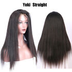 Straight Blonde Lace Front Wig 100% Peruvian Virgin Human Hair Wig Free Part 609