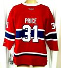 CAREY PRICE Youth Jersey Size L/XL Montreal Canadiens Reebok Red Habs NHL New $34.95 USD on eBay