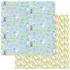 "Easter Parade - Bunny Trail Double-Sided Cardstock 12""X12"" - 25/pack"