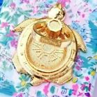 NEW Lilly Pulitzer Critter Phone Ring Holder Turtle Gold Metallic