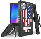 Rugged Tri-Shield Case + Belt Clip for iPhone 11 PRO MAX - Patriotic Series