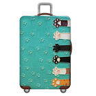 Luggage Protective Dust Cover Travel Suitcase Elastic Luggage Accessories