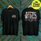 Travis Scott Astroworld Wish You Were Here Tour Merch T-Shirt Black Full Size  image