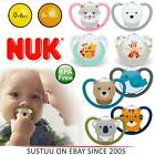 NUK Space & Winnie The Pooh Silicon Baby Dummy Pacifier Soothers Binky 0-18m