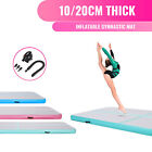 3/4/5/6m Inflatable Air Track Tumbling Gymnastic Mats Floor Tumble Training Pump
