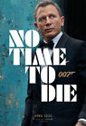 T-65 James Bond No Time To Die Fabric Poster 24x36 14x21 007 Movie Daniel Craig $6.49 CAD on eBay