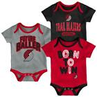 Portland Trail Blazers Infant Creeper Set Lil Tailgater 3 Pack on eBay