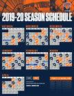 New York Knicks NBA Basketball Schedule 2019 Poster on eBay