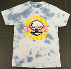 GUNS N' ROSES T-shirt 1991 Theatre Tour 2sided Tie Dye Licensed Men's Tee New image