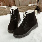 LADIES Winter Snow Ankle Boots WARM WALKING HIKING ANKLE BOOTS SHOES SIZE