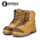 Kyпить ROCKROOSTER Safety Work Boots Mens Shoes Steel Toe Water Resistant Side Zip на еВаy.соm