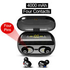 Mini In-Ear TWS Kopfhörer Bluetooth 5.0 Kabellos Ohrhörer Stereo Headset Ladebox