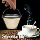 Coffee Filter Mesh Permanent Coffee Filter Basket Strainer for Cuisinart