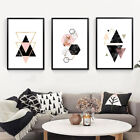 Modern Geometric Painting Picture Wall Home Modern Bedroom Decor Poster Eyeful