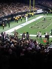 1 New Orleans Saints vs San Francisco 49ers Awesome Superdome plaza club level $750.0 USD on eBay